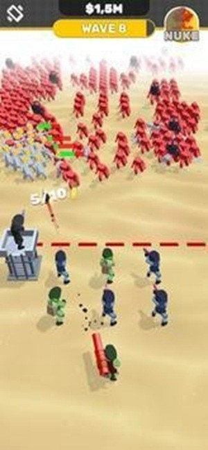 军队大乱斗无限金币版