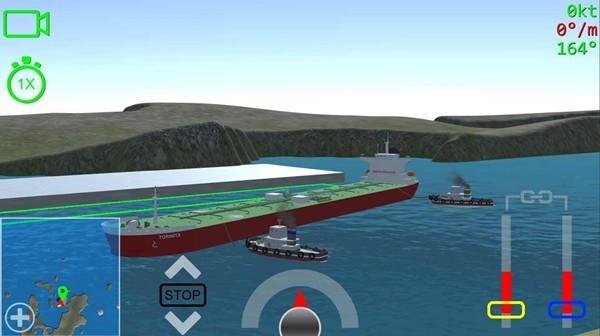 船舶系泊3d游戏