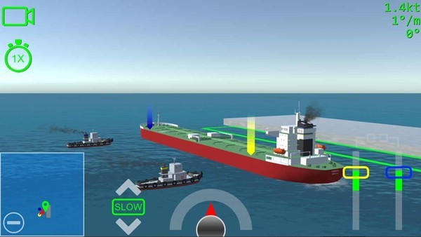 船舶系泊3d解锁所有船只
