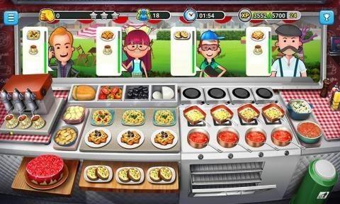 餐车厨师烹饪游戏