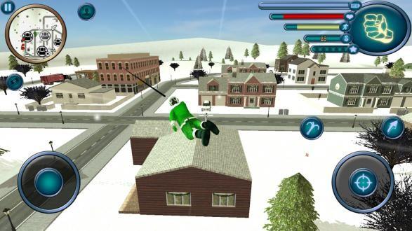 圣诞老人绳索英雄模拟器破解版下载