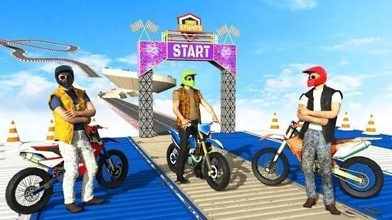 超级坡道自行车特技手机版