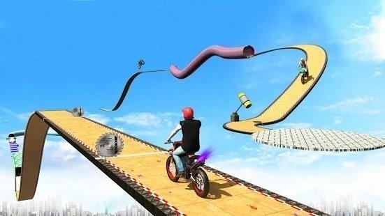 超级坡道自行车特技手机版下载
