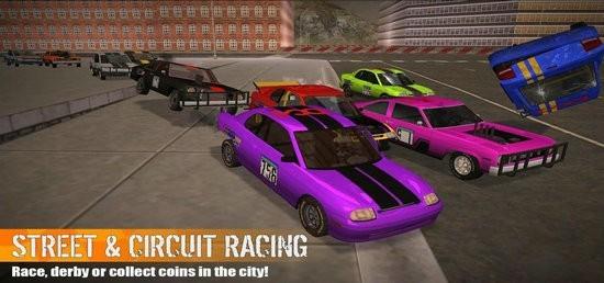 冲撞赛车3无限金币版下载