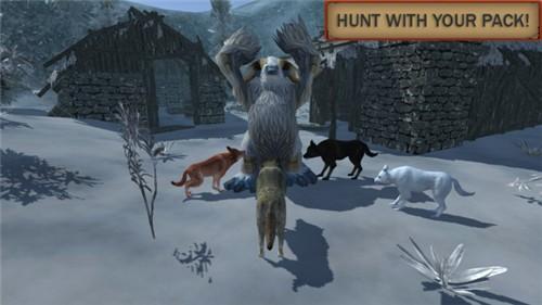 狼模拟进化游戏破解版下载