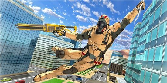 英雄绳犯罪城市游戏