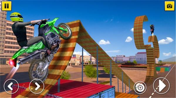 摩托车特技游戏下载安装