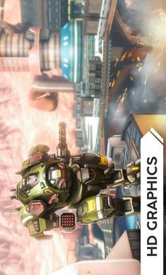 机器人战争破解版无限黄金版
