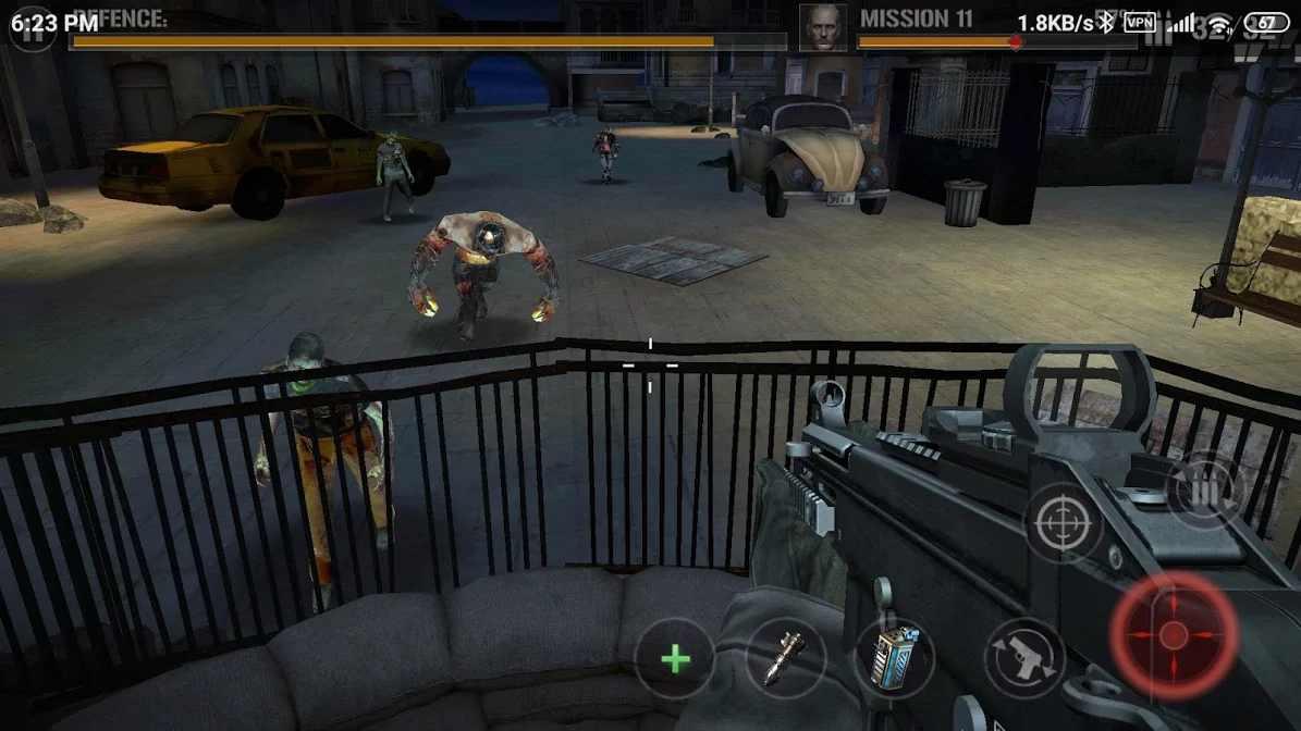 僵尸生存手机游戏中文版