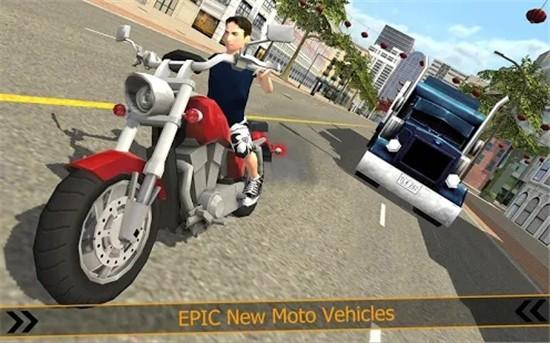 城市摩托车赛车内购破解版下载