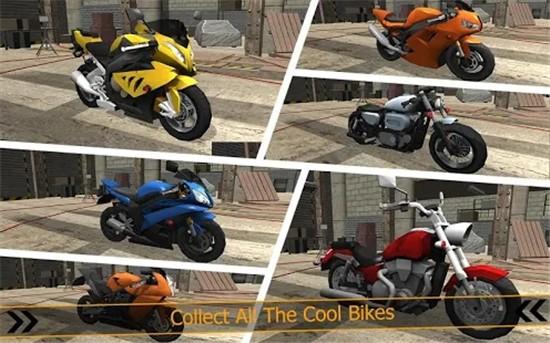 城市摩托车赛车破解版下载