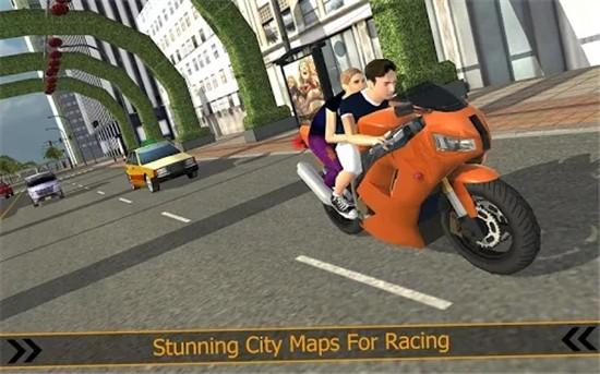 城市摩托车赛车破解版