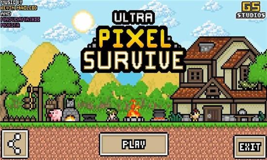 超像素生存RPG生存安卓破解版下载