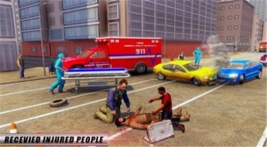 紧急救护车模拟器无限金币版下载