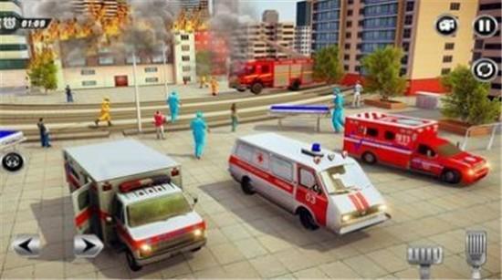 紧急救护车模拟器破解版