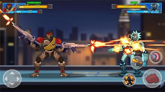 机器人超级英雄无限金币版下载