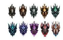 英雄联盟手游段位级别排列顺序 英雄联盟手游段位级别排列顺序大全